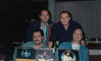 David, Brian, Craig, Sugar 6 March 1998